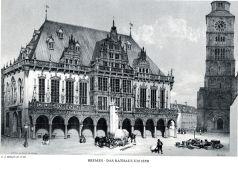 Bremen_Rathaus_1850_C.J.Billmark
