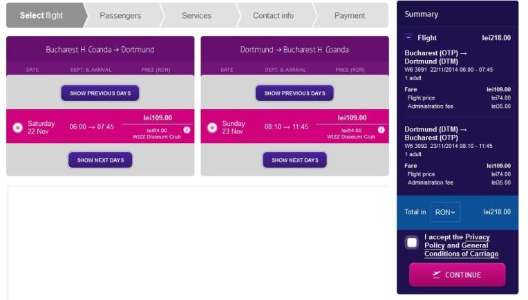 Dortmund - Wizz Air