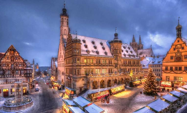 Rothenburg Christmas Market - considerata cea mai frumoasa piata de Craciun din lume