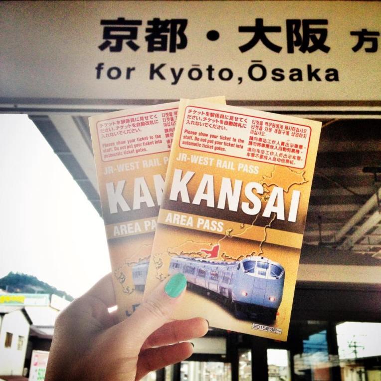 JR Pass-uri pentru zona Kansai