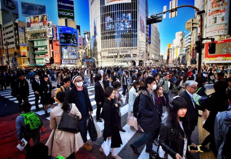 In mod normal, e si mai haos. Dar noi am ajuns in Shibuya dupa pranz, cand valurile de corporatisti trecusera deja