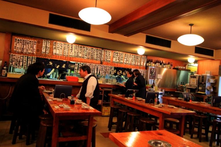 Restaurant in stil izakaya