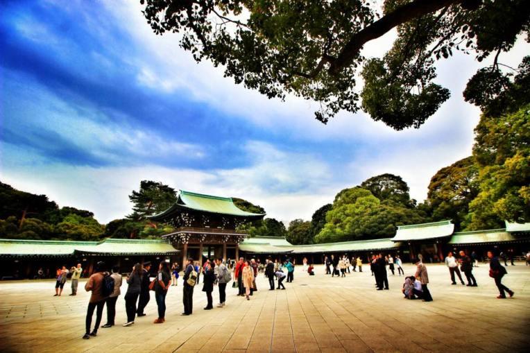 Curtea Templului Meiji
