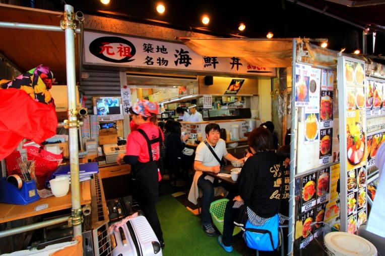 Restaurante mici, in piata
