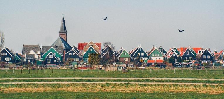 Casele pescaresti din Marken