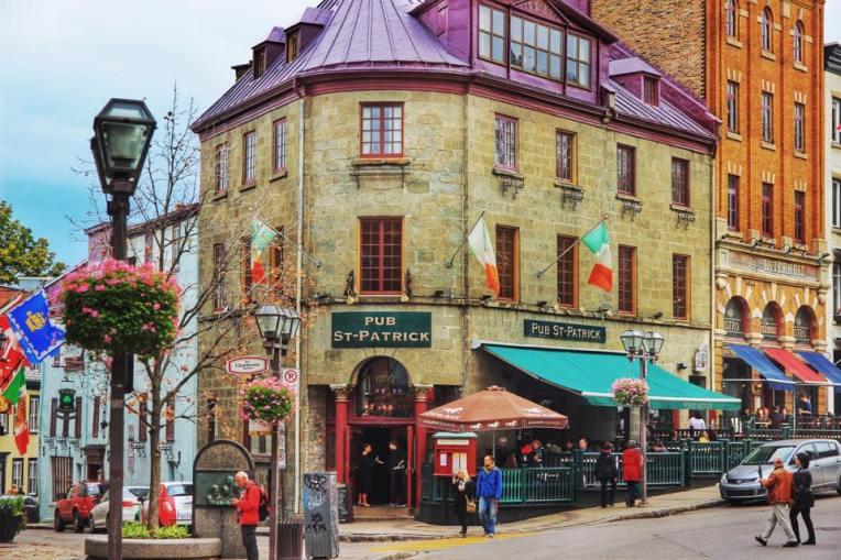 Unul dintre cele mai faimoase pub-uri din centrul Quebecului