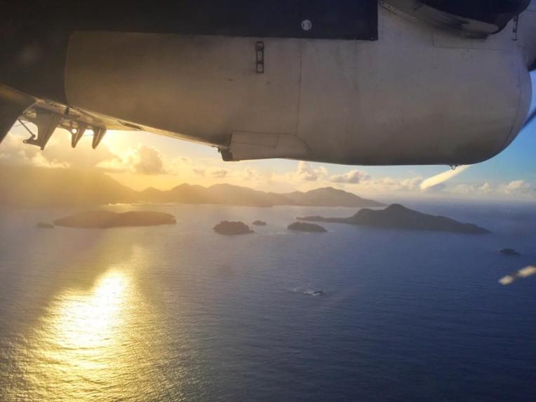 Priveliste din avionul DHC Twin Otter