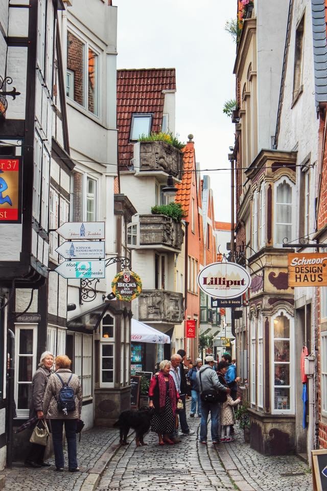 Strada in cartierul Schnoor