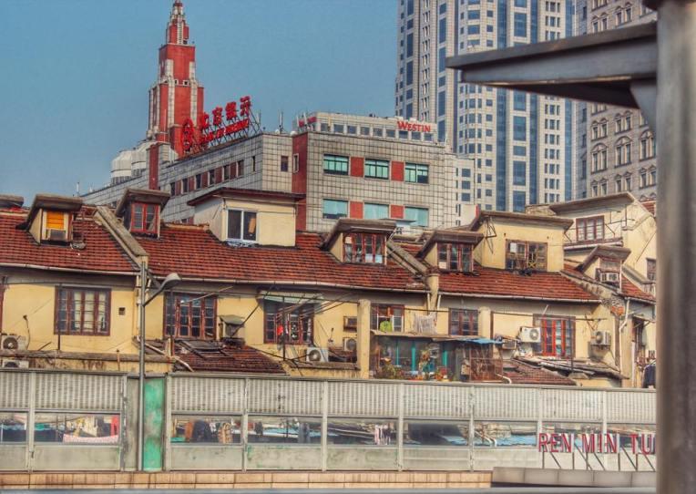 Peisaj urban in drumul catre City God Temple