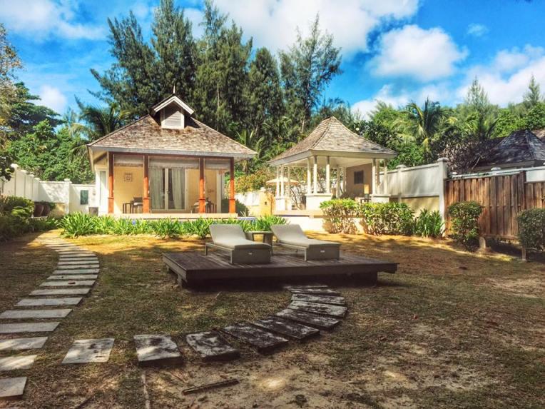 Vile din cadrul resortului Banyan