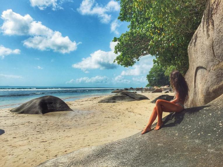 Plaja Beau Vallon, Insula Mahe