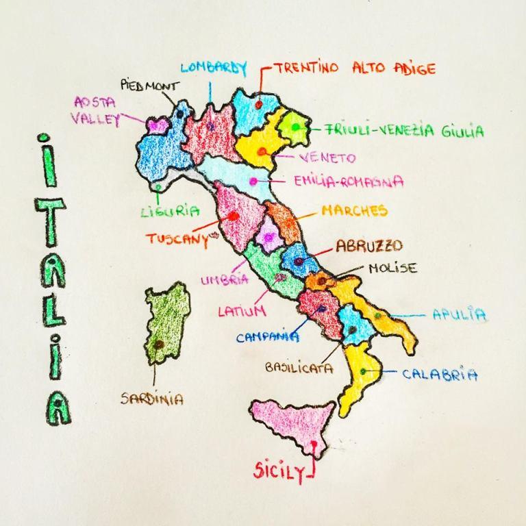 Italia Regions