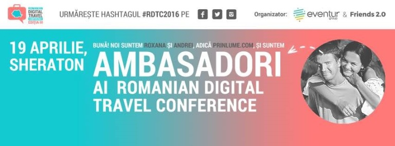 Romanian Digital Travel Conference - Cover Photo