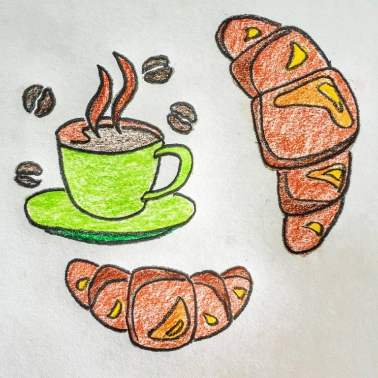 Cafe con Leche y Medialunas 1