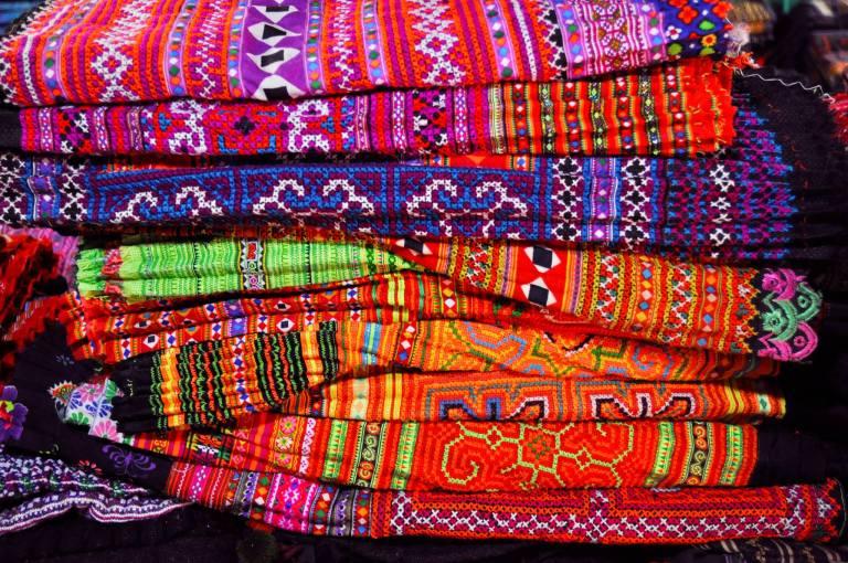Hmong Fabrics 1