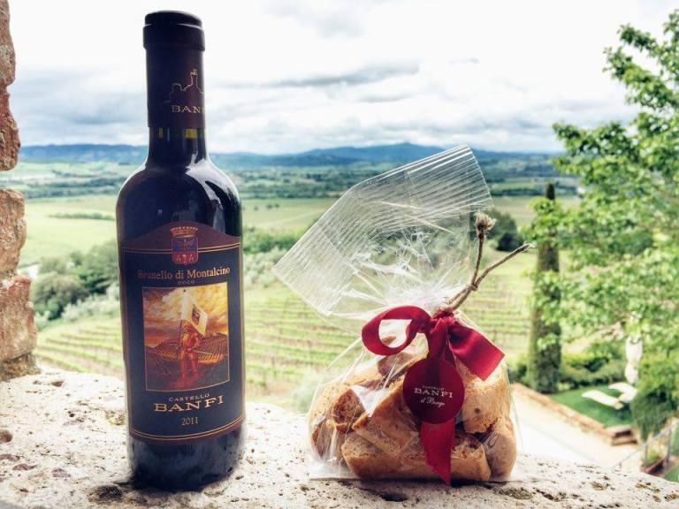Tasting Menu Castello Banfi 6