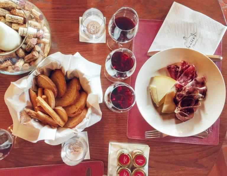 Wine Tasting Castello Banfi 5