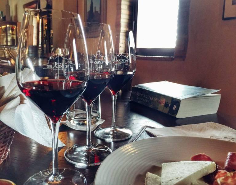 Wine Tasting Castello Banfi 7