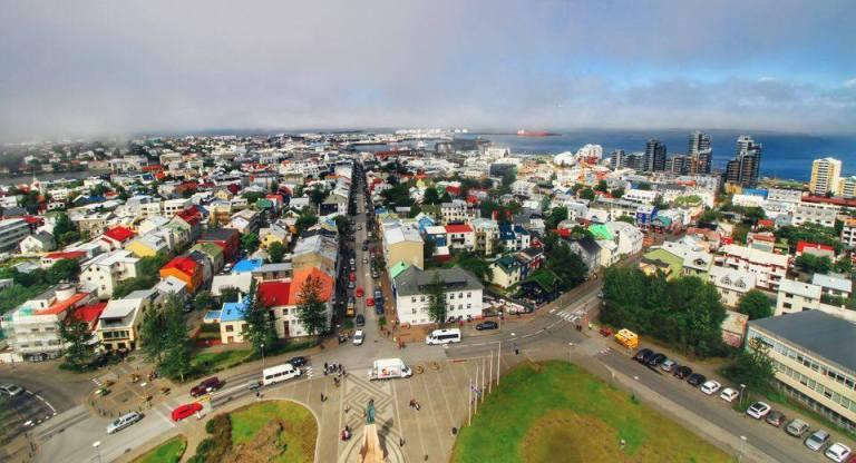 Iceland Hallgrímskirkja Reykjavik 3