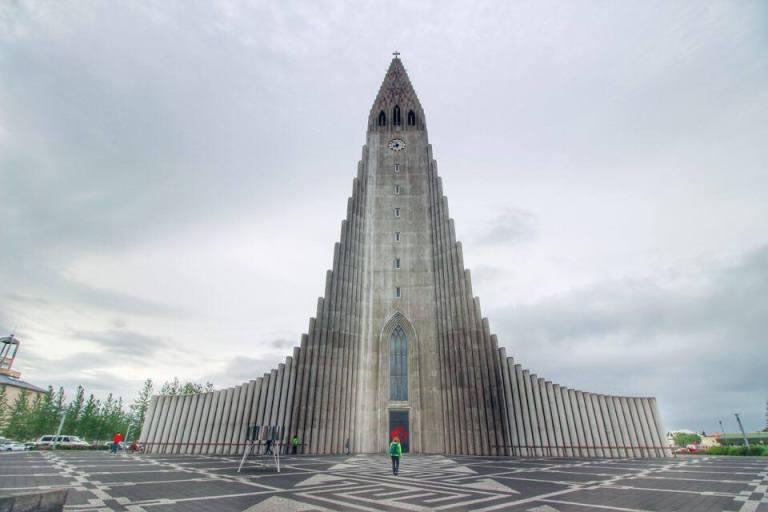 Iceland Hallgrímskirkja Reykjavik 6