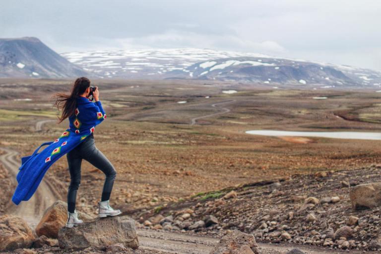 Iceland Kaldidalur Route