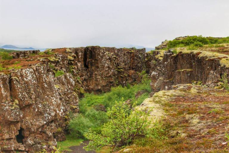 Iceland Thingvellir National Park Tectonic Plates 2