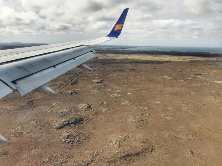 Icelandair_Window View_Reykjavik