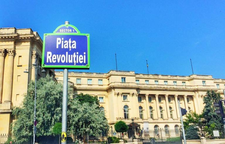 Revolution Square Bucharest 1