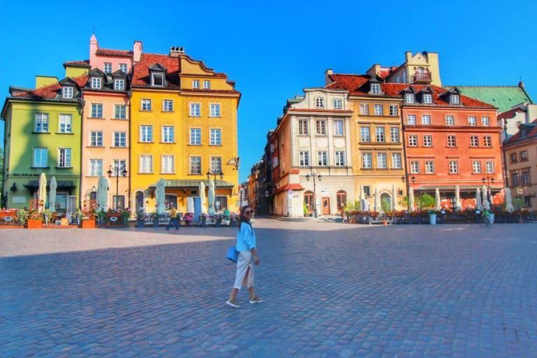 Castle Market Warsaw