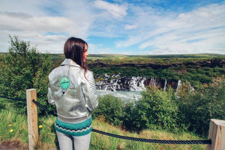 Hraunfossar Waterfall Iceland 2