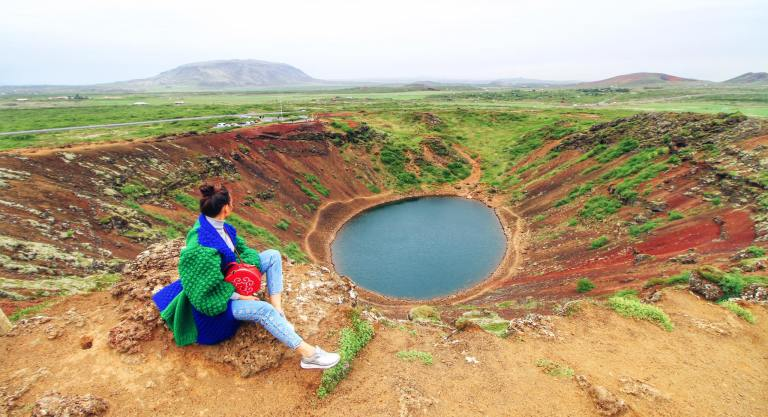 Iceland Kerid Crater