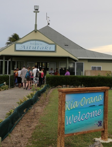 Aeroportul din Aitutaki 2