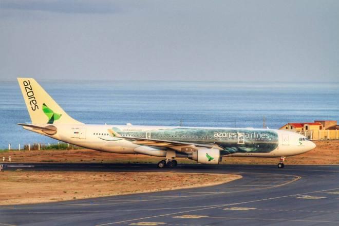Azores Airlines Sao Miguel Ponta Delgada