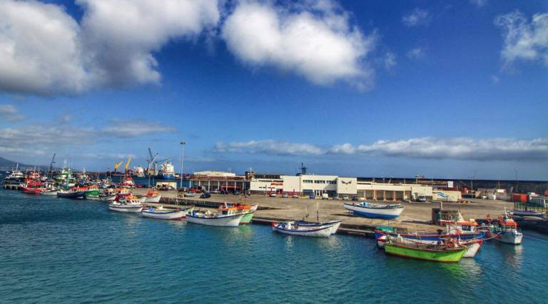 Ponta Delgada Harbour Sao Miguel Azores 6