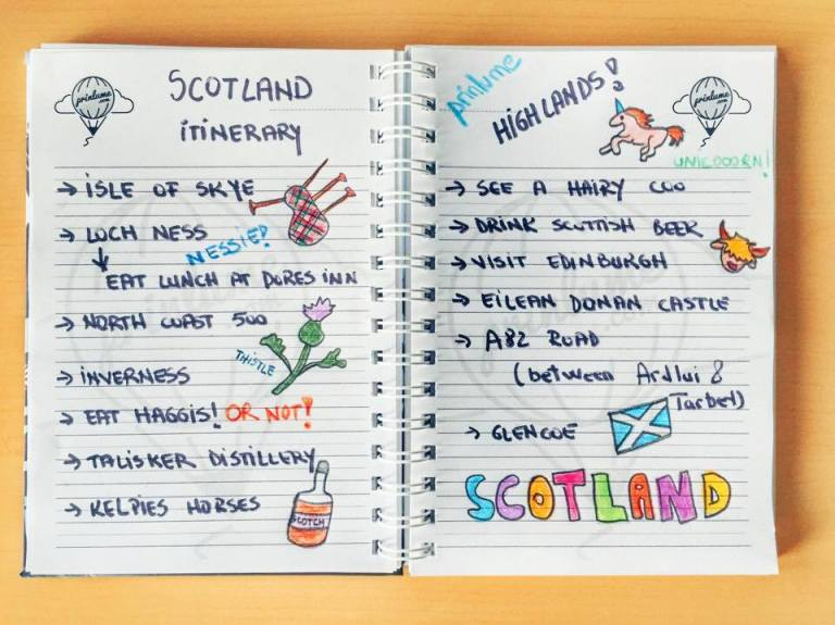 scotland-itinerary