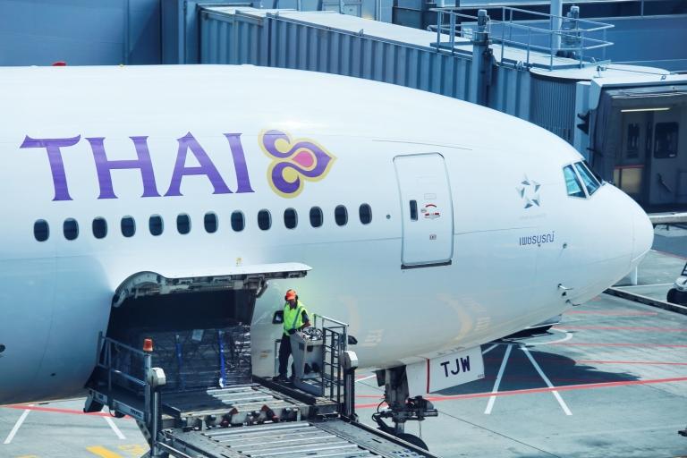 Thai Airways_Auckland Airport