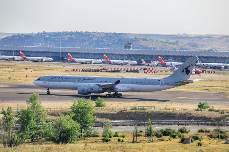 SPotting at Madrid Airport
