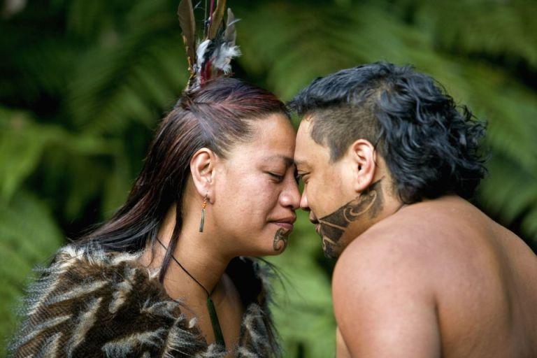 Maori Hongi