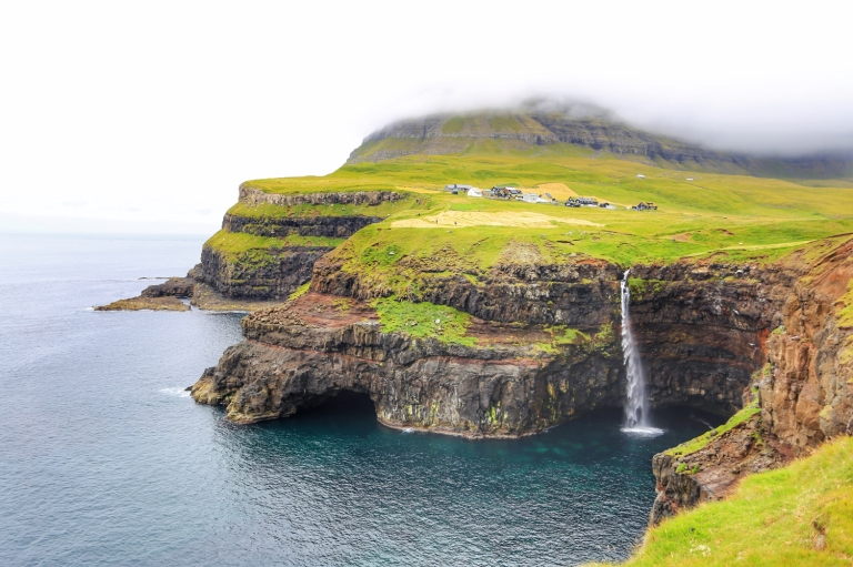 Gasadalur Waterfal_Vagar_Faroe Islands_1