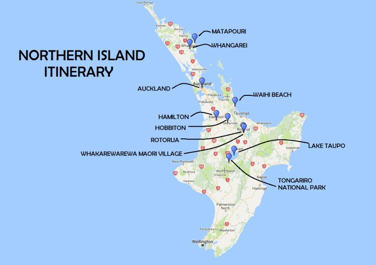 Northern Island Itinerary