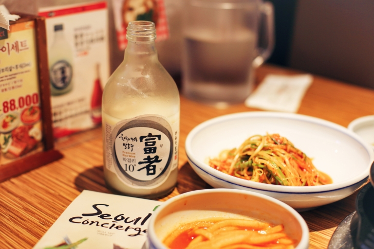 Restaurant vizavi de Gogung Myeong Dong Seoul South Korea_2