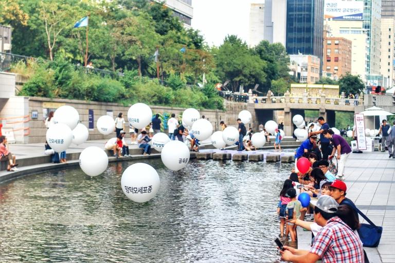 Cheonggyecheon Stream_Seoul_South Korea_1