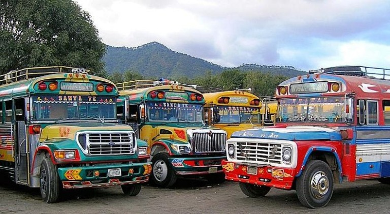 Chicken Buses_Guatemala