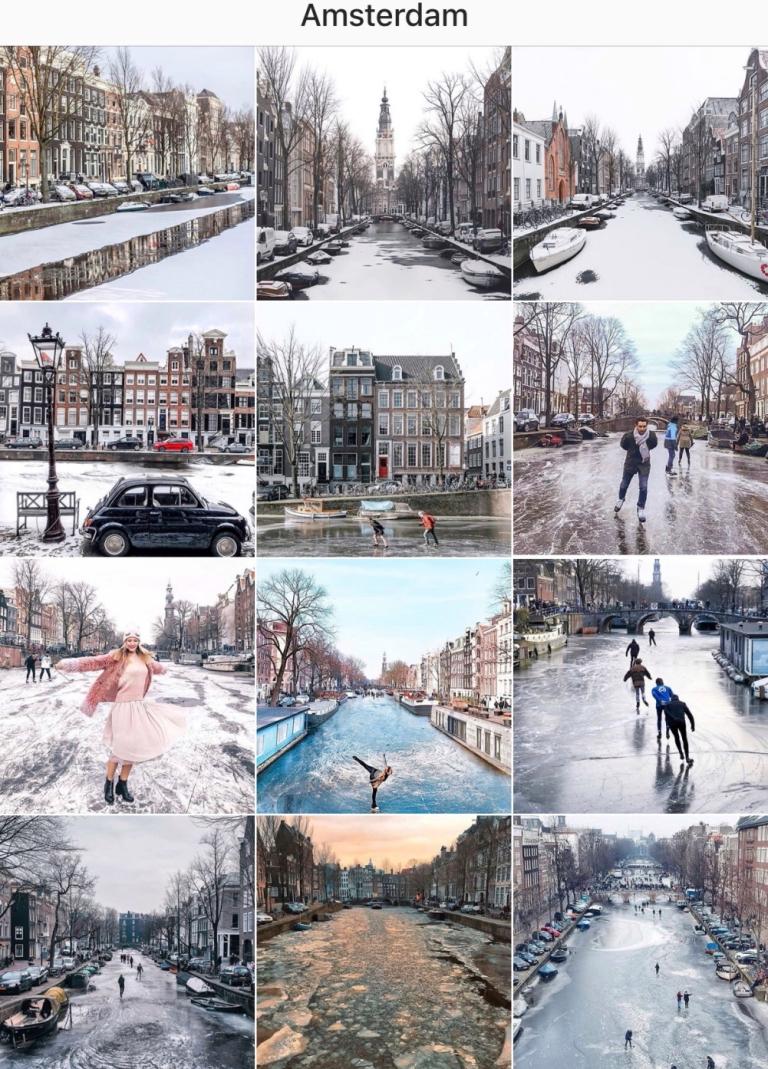 Amsterdam Frozen Canals_1