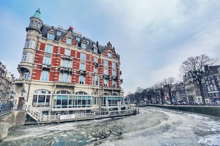 Amsterdam Frozen Canals_9