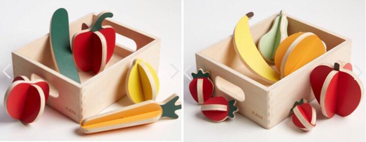 Jucarii fructe si legume